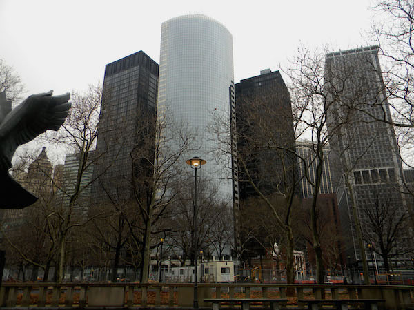 Battery Park a New York
